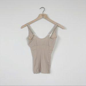 Spanx Tan Tank Top Undershirt Shapewear Tank Top